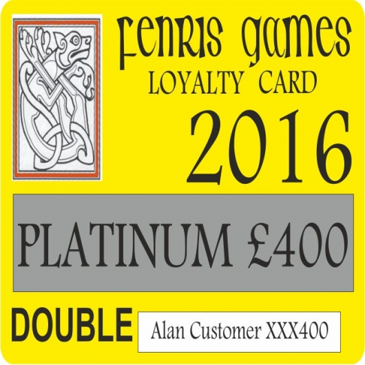 2016 Loyalty Cards launched !