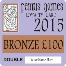 2015 Loyalty Cards now LIVE